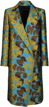 Gianluca Capannolo Multicolor Silk Blend Coat