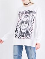 R 13 Kurt cotton-jersey T-shirt