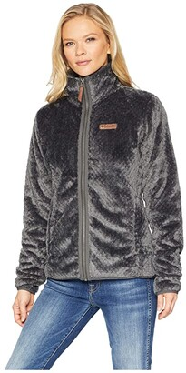 Columbia Fire Sidetm II Sherpa Full Zip (Shark) Women's Coat