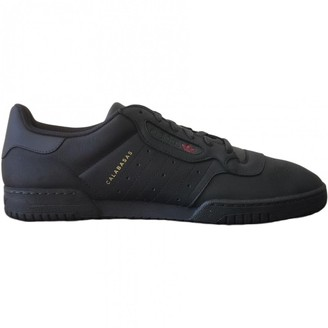 Yeezy Black Leather Trainers