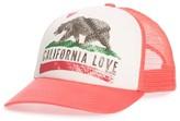 Billabong Girl's Pitstop Trucker Hat - Pink