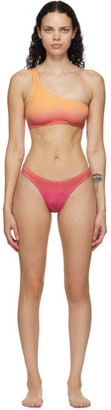 BOUND by Bond-Eye Pink and Orange The Samira Bikini