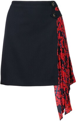 Givenchy Pleated Panel Skirt