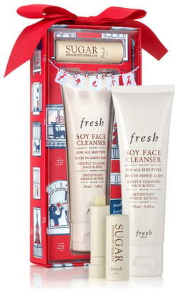 Fresh® Enchanted Essentials Travel Size Soy Face Cleanser® & Sugar Lip Treatment Set
