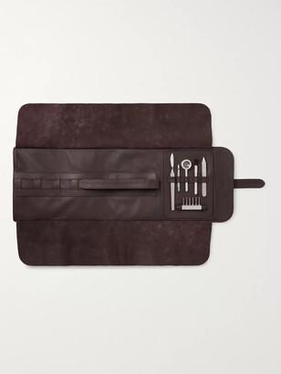 Lorenzi Milano Stainless Steel And Aluminium Watch Repair Kit With Leather Case