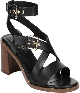 Franco Sarto Block Heel Sandals - Halina