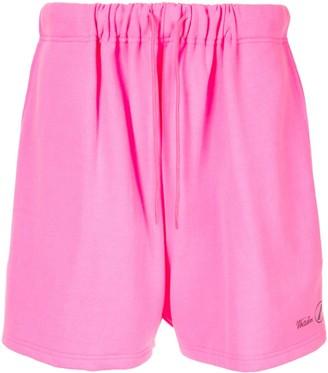 we11done Logo Sweat Shorts