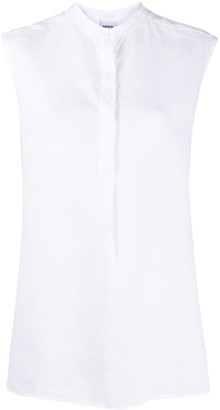 Aspesi Sleeveless Placket Blouse