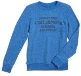 Joe's Jeans Girl's A Day Between Graphic Sweatshirt