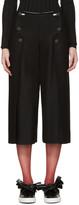 Cédric Charlier Black Sailor Trousers