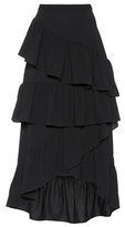 Edit Ruffled A-line skirt
