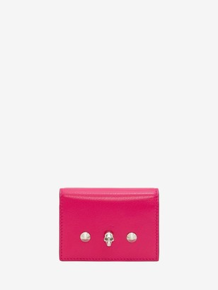 Alexander McQueen Skull Card Holder on Chain
