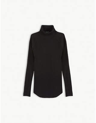 Molo Turtle-neck cotton-blend top 3-14 years