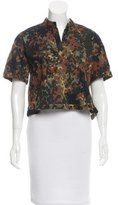 Rachel Comey Short Sleeve Crop Top