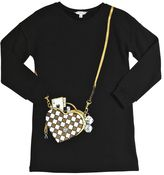 Little Marc Jacobs Heart Bag Printed Cotton Dress