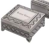 Creative Gifts EMBLEMATIC JEWELRY BOX, SILVER PLATED.