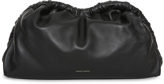 Mansur Gavriel Lamb Cloud Clutch - Black Flamma