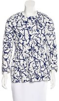 M Missoni Printed Peplum Jacket