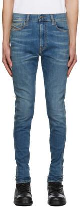Diesel Blue D-ISTORT-SP3 Jeans