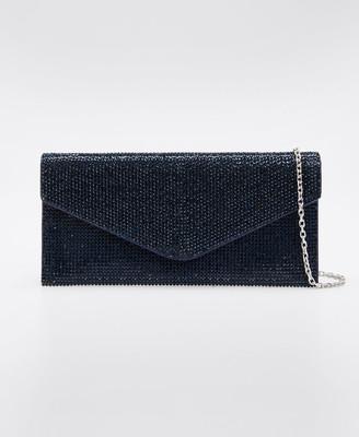 Judith Leiber Envelope Beaded Clutch Bag