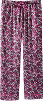 Joe Fresh Women's Piped Sleep Pant, Print 2 (Size XL)