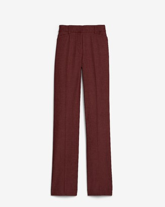 Express High Waisted Columnist Barely Boot Pant
