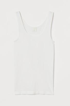 H&M Seamless Tank Top - White