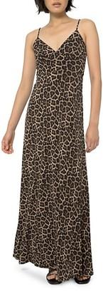 MICHAEL Michael Kors Nubian Leopard-Print Maxi Dress