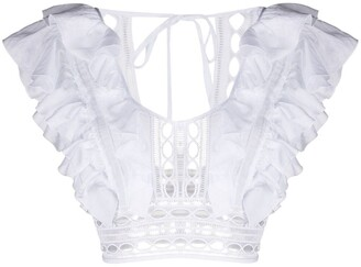 Charo Ruiz Ibiza Ruffled Top