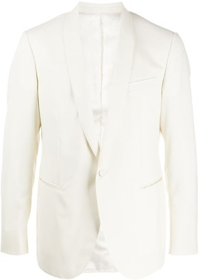 Lanvin Shawl-Lapel Single Breasted Blazer