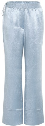 Acne Studios Hammered satin pants