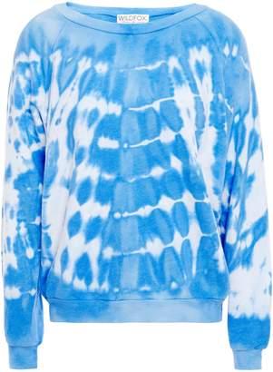 Wildfox Couture Tie-dyed Fleece Sweatshirt