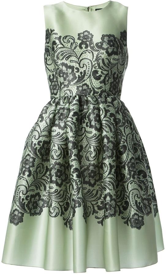 Dolce & Gabbana floral paisley print dress