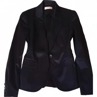 Anna Molinari Black Cotton Jacket for Women