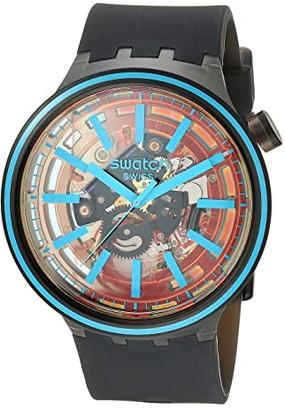 Swatch Fire Taste - SO27B112 (Black) Watches