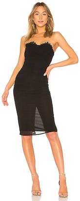 LPA Shirred Bustier Dress