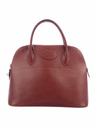 Hermes Courchevel Bolide 35 Rouge