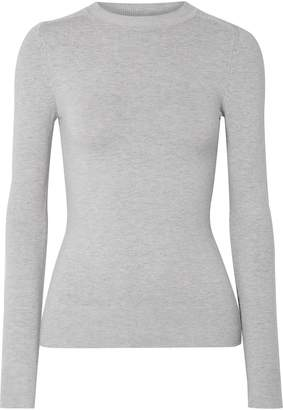 JoosTricot Melange Cotton-blend Jersey Top