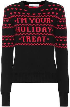 Philosophy di Lorenzo Serafini Intarsia wool sweater