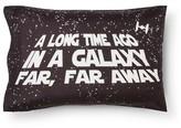 Star Wars In A Galaxy Far Far Away Pillowcase (Standard) Black