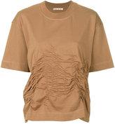Marni gathered and stitched T-shirt