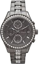 JLO by Jennifer Lopez Women's Crystal Stainless Steel Chronograph Watch