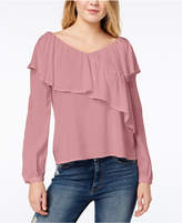 One Hart Juniors' Ruffled Top, Created for Macy's