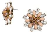 BaubleBar Women's Lynneth Crystal Stud Earrings