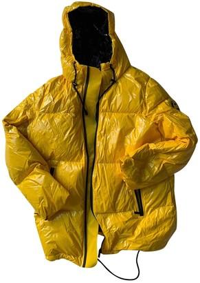 Michael Kors Yellow Synthetic Coats