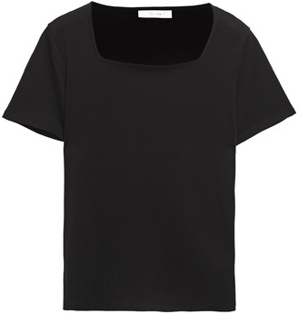 The Row Jackie Cotton And Cashmere-blend Jersey T-shirt