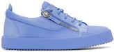 Giuseppe Zanotti Blue Subbirel Sneakers
