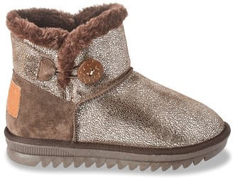 Les Tropéziennes Jaipur Fleece-Lined Leather Ankle Boots