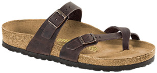 Birkenstock Habana Natural Oiled Mayari Regular Sandal - 37