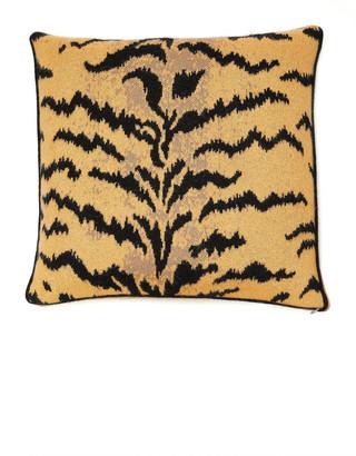 Saved NY Calabria Intarsia Cashmere Pillow